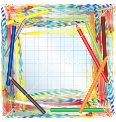 color pencils background vector 202635